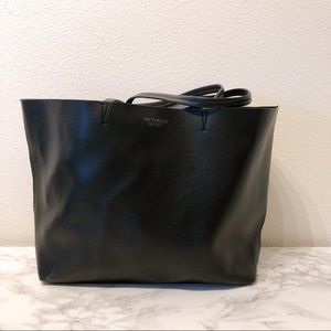Large Victoria secret leather tote